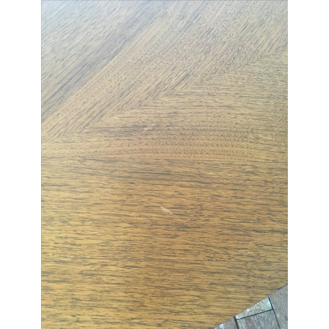 Walnut B.P. John Mid-Century Coffee Table For Sale - Image 7 of 7