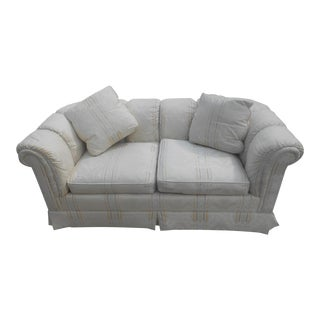 Vintage Traditional Low Profile Baker Sofa / Loveseat For Sale