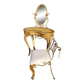 Pulaski Vanity & Matching Boudoir Chair