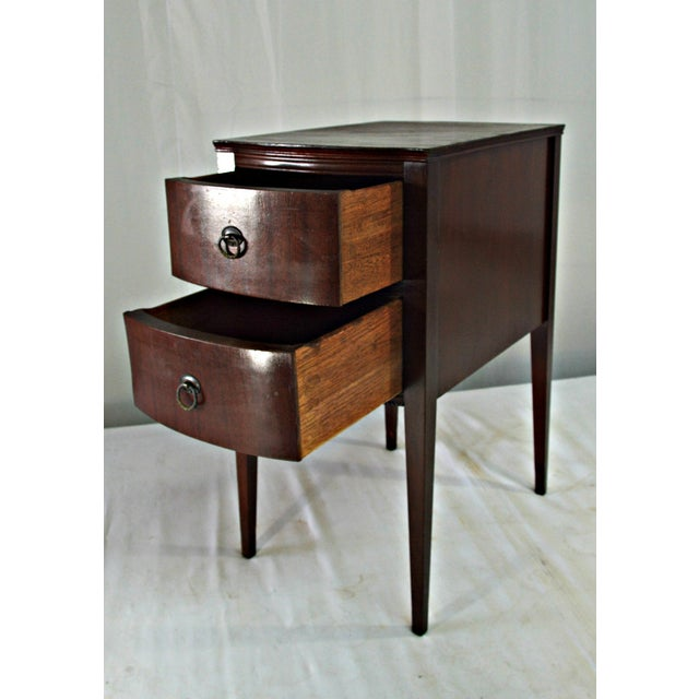 Antique Flint & Horner Nightstand - Image 4 of 8