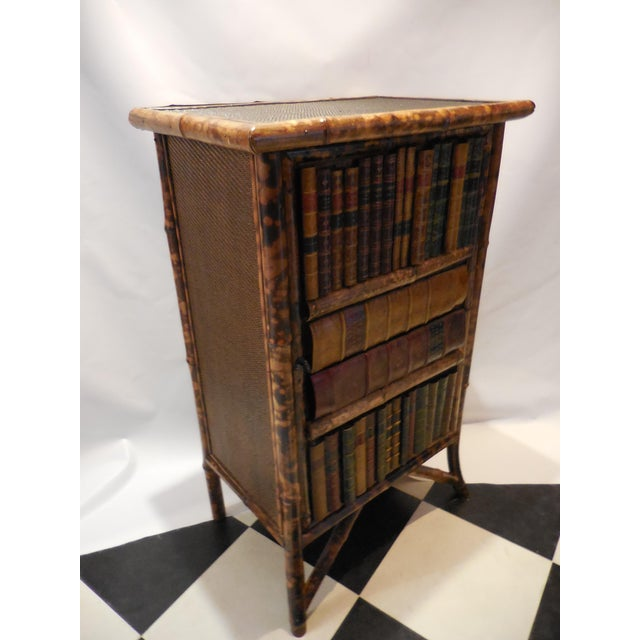Bamboo Library Cabinet - Image 5 of 8