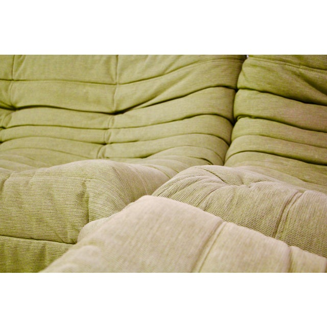 Green Modern Ligne Roset Togo Sofa For Sale - Image 8 of 13