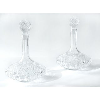 Early 20th Century Cut Crystal Drink Decanters - a Pair Preview
