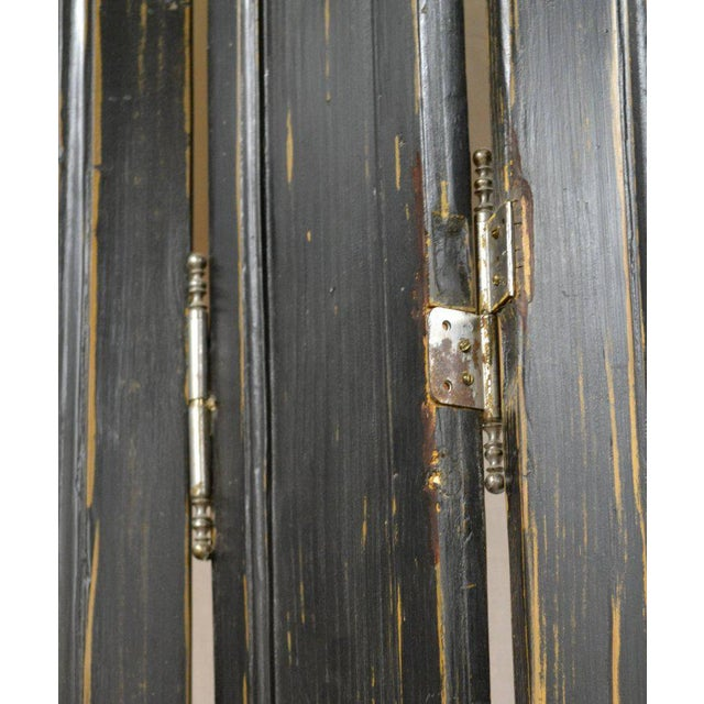 Pine French Louis XV Style Pine Folding Screen For Sale - Image 7 of 10