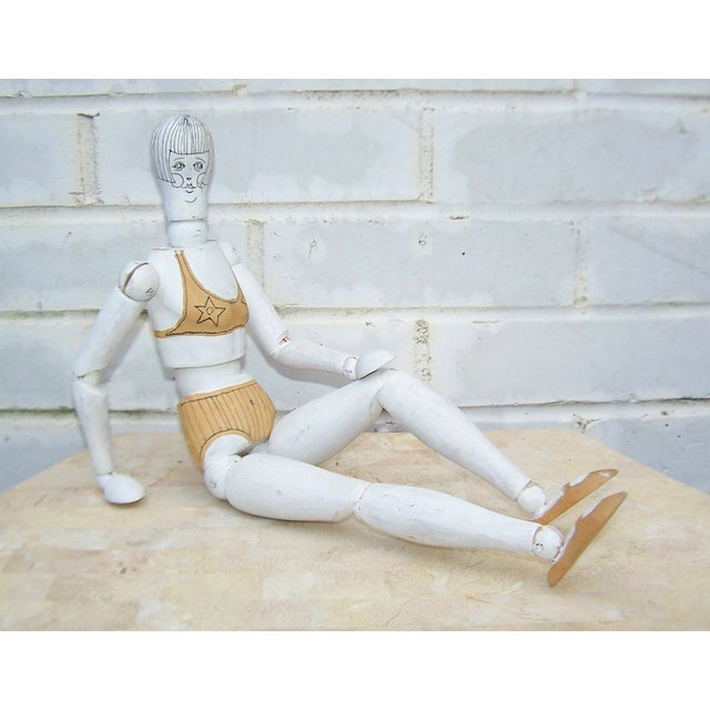 Pop Art Painted Articulated Artist's Model - Image 6 of 6
