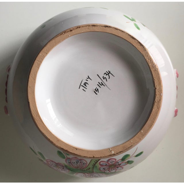 Vintage Italian Hand-Painted Tureen & Platter For Sale In New York - Image 6 of 7