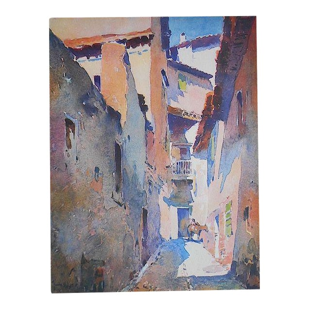 Vintage Lithograph-Spain-Toledo - Image 1 of 3