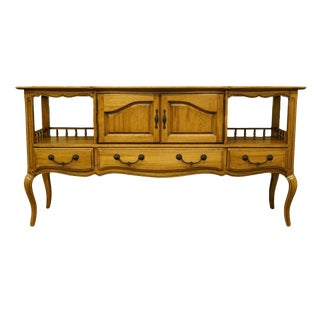20th Century French Thomasville Furniture Chateau Collection Server/Buffet For Sale