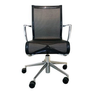 Modern Alberto Meda Rolling Frame Task Arm Chairs For Sale