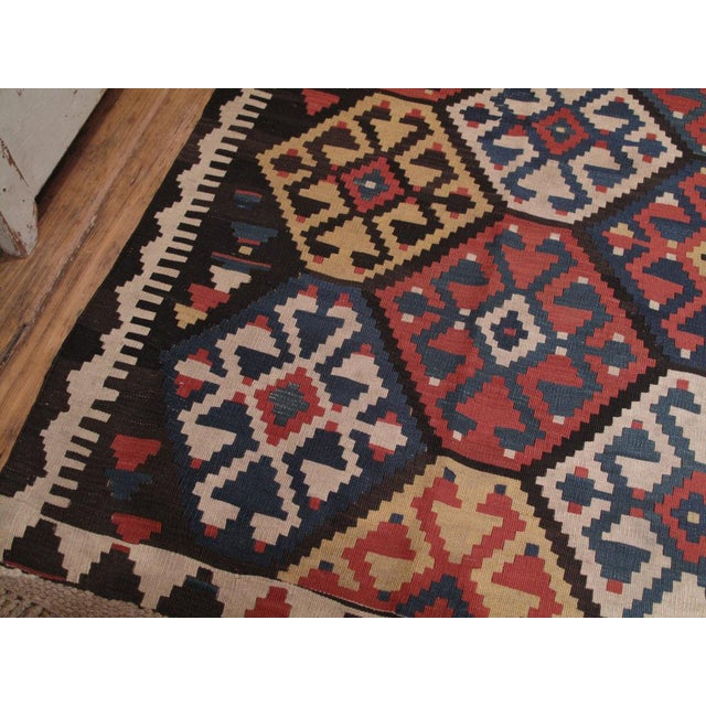 Antique Shahsavan Kilim For Sale In New York - Image 6 of 9