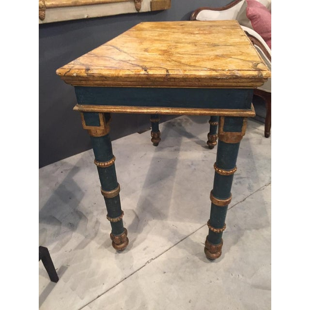 18th Century Italian Painted Table For Sale In Nashville - Image 6 of 8