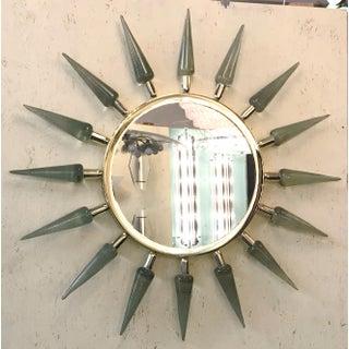 Italian Sunburst Murano Glass Mirror Preview