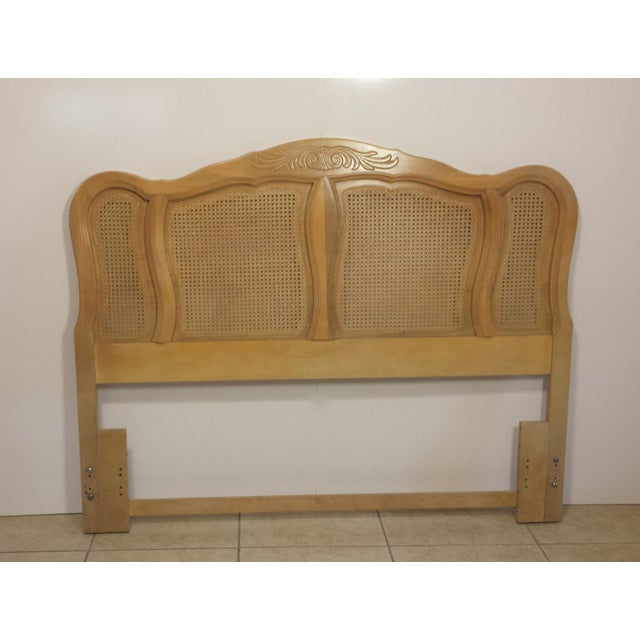 French Provincial Queen Size Headboard - Image 4 of 10