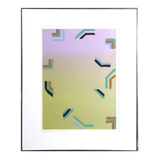 Minimalist Abstract Screenprint by Murata