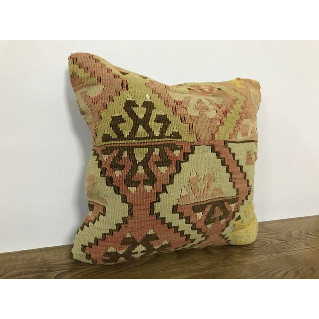 Handmade decorative Turkish vintage pillow cover. Antique handmade sofa pillow. Traditional Turkish Anatolian cushion...