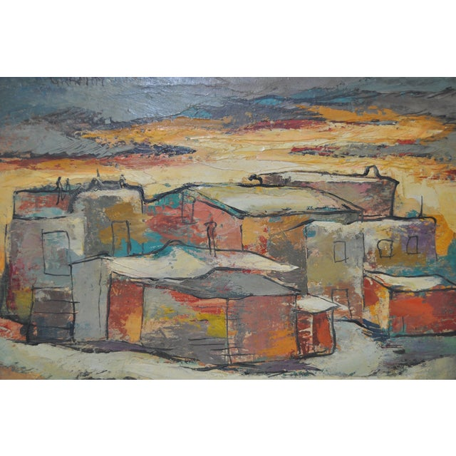 "Ellwood Graham C.1930s ""Alameda Snow"" Painting - Image 4 of 6"