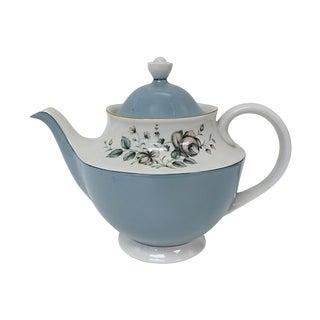 1940s Royal Dolton Floral Teapot For Sale