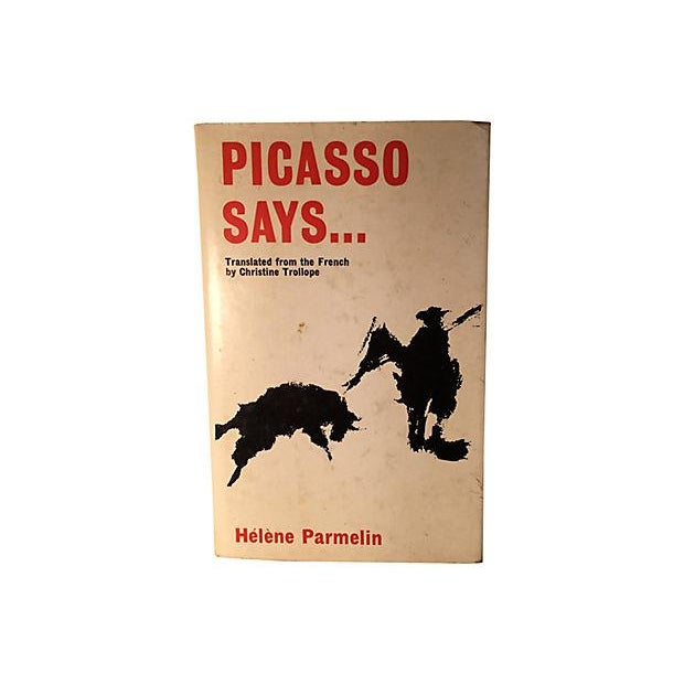 Picasso Says by Helene Parmelin 1969 For Sale