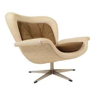 John Mortensen Prototype Swivel Lounge Chair For Sale