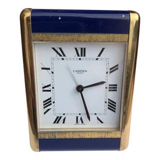 Cartier Paris Travel Clock For Sale