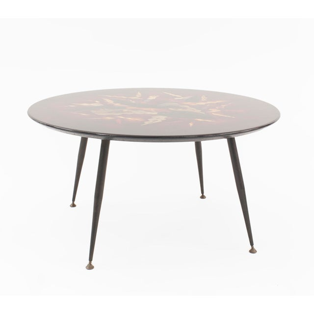 Mid-Century Modern French Midcentury Low Coffee Table, by Bernard Dunand For Sale - Image 3 of 8