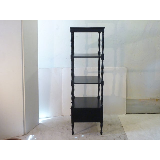 Americana Early 20th Century Antique Etagere For Sale - Image 3 of 10