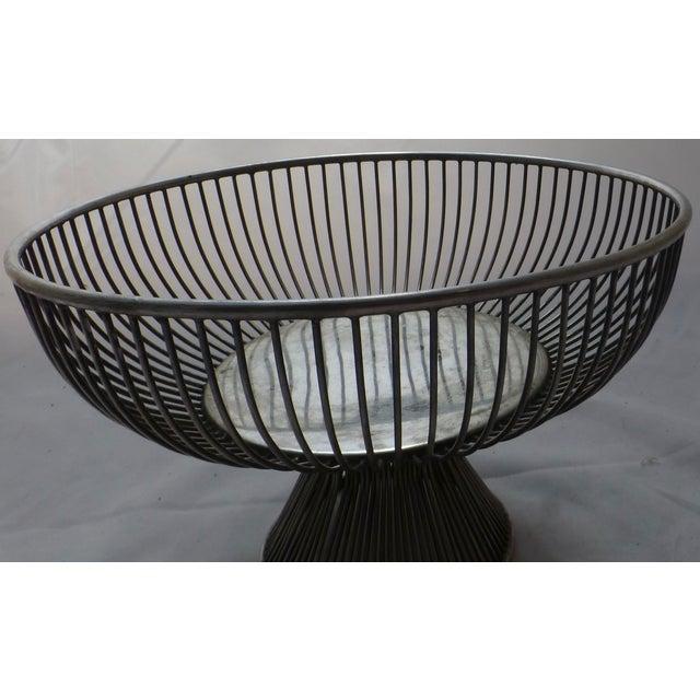 Warren Platner Style Mid Century Fruit Basket - Image 9 of 11