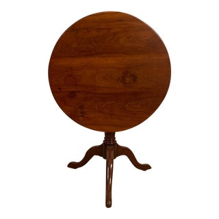 American Fruitwood Tilt-Top Table, 1790 For Sale