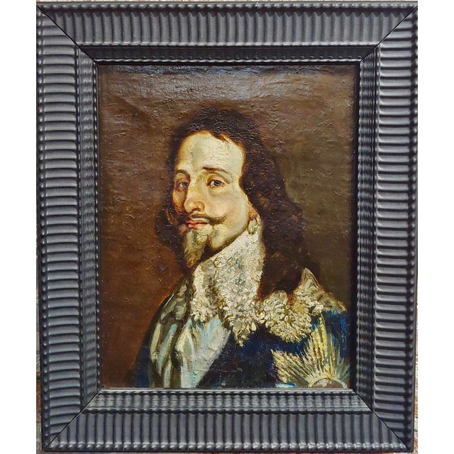 Portrait of a Spanish Gentleman 17th/18th Century Oil Painting For Sale - Image 9 of 9