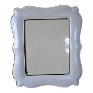 1980s Modern Lenox Picture Frame For Sale