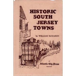 """1964 """"Historic South Jersey Towns"""" Collectible Book For Sale"""