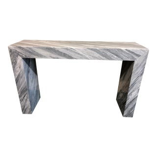 Contemporary Italian Marble Console Table