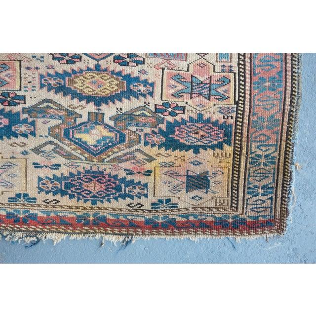 """Antique Caucasian Kuba Rug -- 2'11"""" x 3'7"""" - Image 6 of 7"""