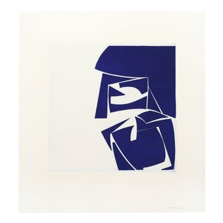 "Joanne Freeman ""Covers 3 Ultramarine"" Print For Sale"
