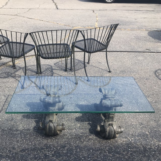 1990s Vintage Palm Beach Regency Coffee Table For Sale In New York - Image 6 of 6