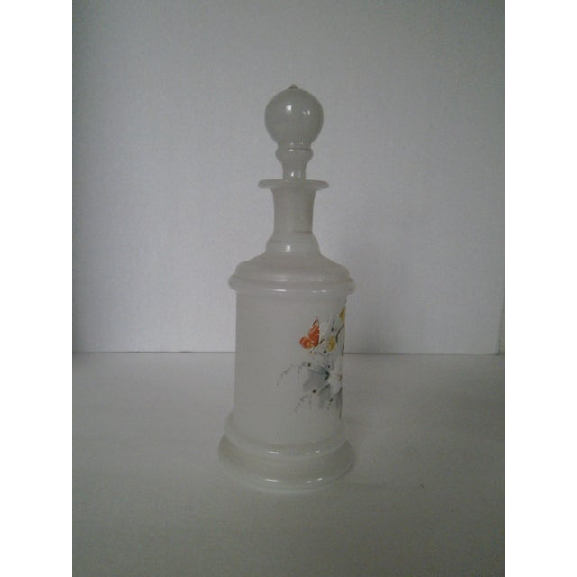 Antique Bristol Glass Decanter - Image 3 of 8