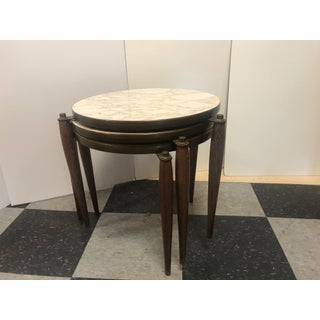 1960's Vintage Round Stacking Tables- Set of 3 Preview