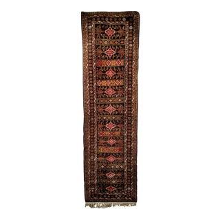 Vintage Afghan Tribal Runner- 2′9″ × 10′ For Sale