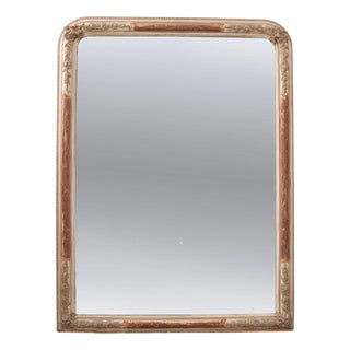 French 19th Century Louis Philippe Gold Gilt Mirror For Sale