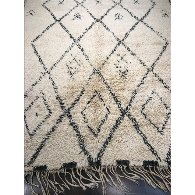 "Moroccan Area Rug - 6'3"" X 11'1"" - Image 3 of 7"