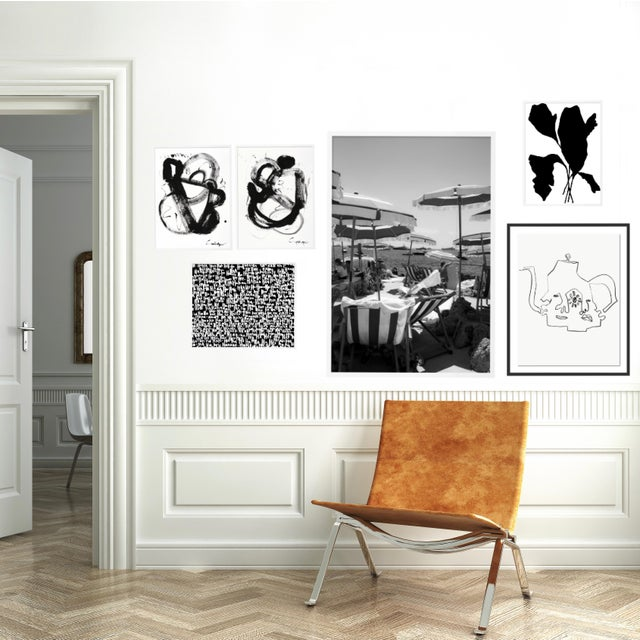Black and White Gallery Wall, Set of 6 For Sale - Image 4 of 10