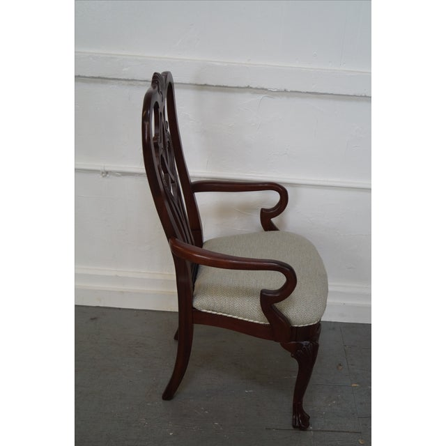Ethan Allen 18th Century Mahogany Dining Chair - 6 - Image 3 of 10