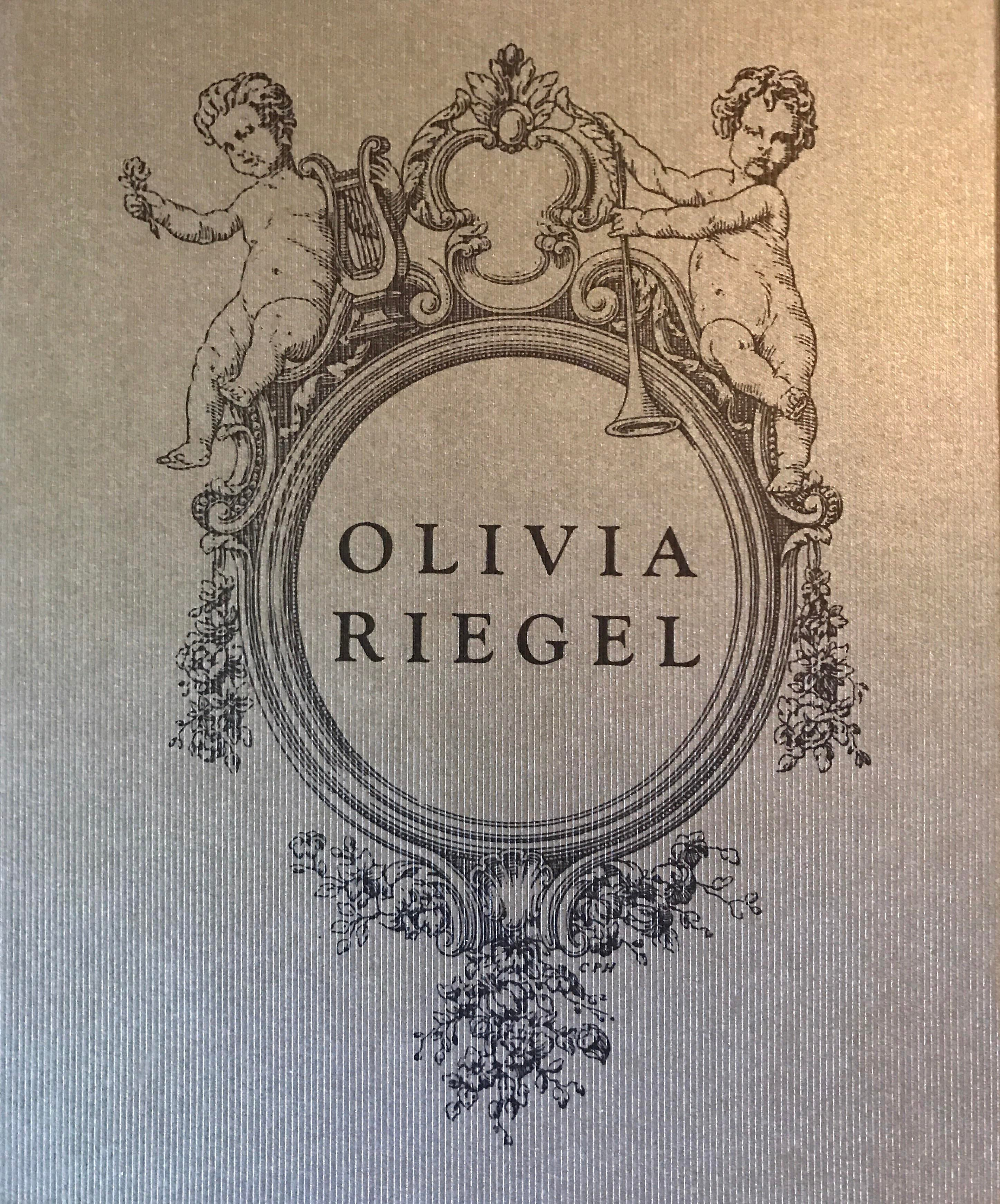 Olivia Riegel Crystal Amp Enameled Frame Chairish
