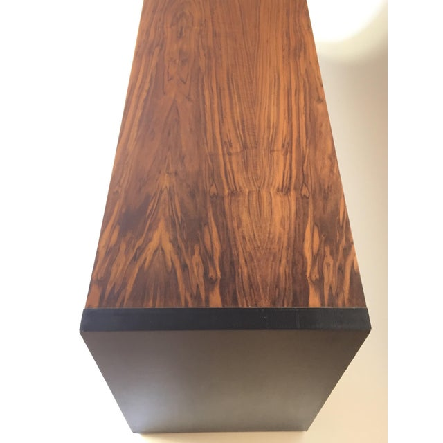 Milo Baughman for Dillingham Walnut Credenza - Image 5 of 6