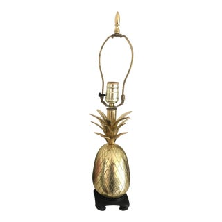 Brass Pineapple Lamp For Sale