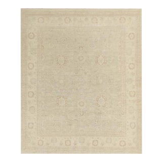 Pasargad Ny Hand-Knotted Farahan Area Rug - 8′ × 9′5″ For Sale