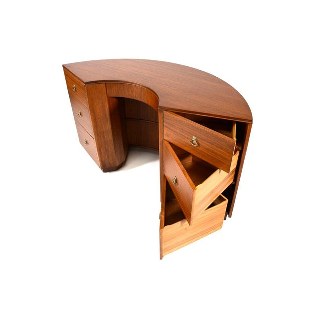 Crescent Desk Designed by Gilbert Rohde for Brown Saltman - Image 4 of 8