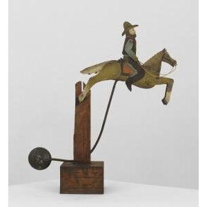 American Country (19/20th Cent) Folk Art toy For Sale - Image 4 of 4
