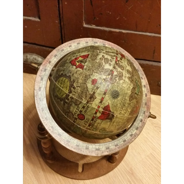 Vintage Italian Mini Old World Horoscope Globe - Image 7 of 8