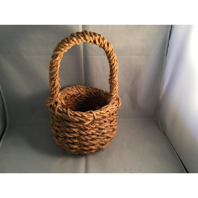 Hemp Wishing Well Basket For Sale In Columbia, SC - Image 6 of 6